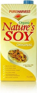 Pure Harvest Natures Organic Soy Milk 1litre