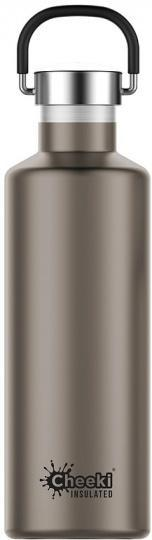 Cheeki Classic Stainless Steel Insulated Champagne Bottle 600ml
