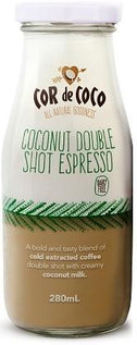 Cor de Coco Coconut Double Espresso Shot 6x280ml-Health Tree Australia