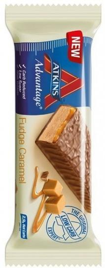 Atkins Advantage - Fudge Caramel 15x60g-Health Tree Australia