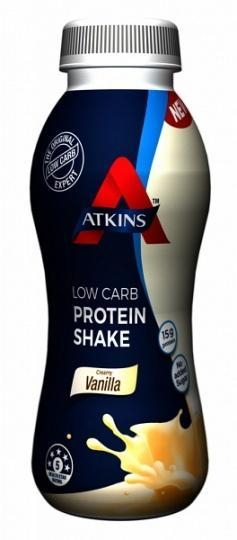Atkins Advantage RTD Low Carb Protein Shake Vanilla 330ml-Health Tree Australia