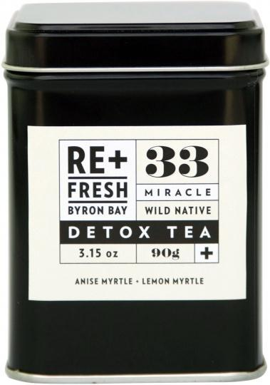 ReFresh Byron Bay Wild Native Miracle Detox Tea 120g-Health Tree Australia