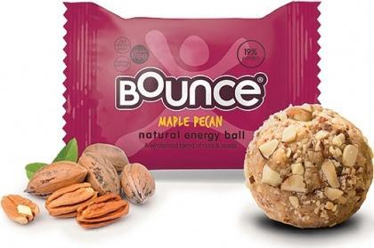 Bounce Maple Pecan Balls G/F 12x42g AUG17-Health Tree Australia