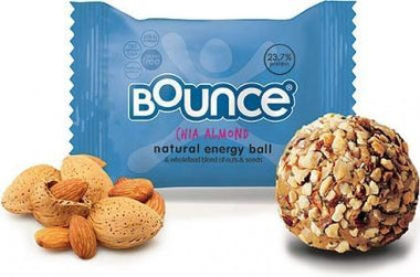 Bounce Chia Almond Balls G/F 12x42g SEP17-Health Tree Australia