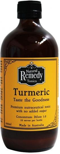 Rochester Natural Remedy Turmeric Tonic G/F 500ml