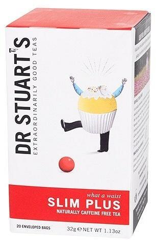 Dr Stuart's Slim Plus Naturally Caffeine Free 15Teabags-Health Tree Australia
