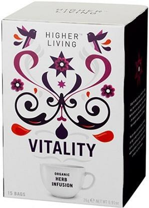 Higher Living Organic Vitality Tea 15Teabags-Health Tree Australia