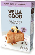 Well And Good All Purpose Cake Mix (Red Sugar) G/F 400g-Health Tree Australia