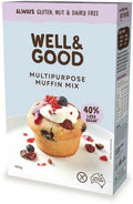 Well And Good Multi Purpose Muffin Mix (Red Sugar) G/F 400g