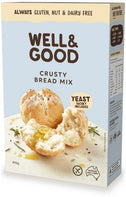 Well And Good Crusty Bread Mix & Yeast G/F 410g-Health Tree Australia