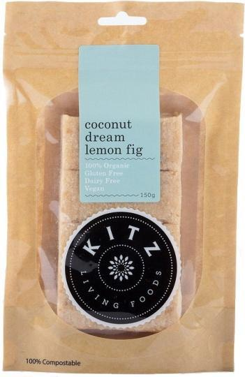Kitz Living Foods Organic Coconut Dream Lemon Fig G/F 150g