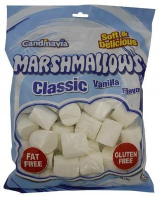 Candinavia Vanilla Marshmallows G/F 250g-Health Tree Australia