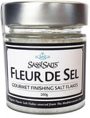 Sassi Salts Fleur de Sel Gourmet Finishing Salt Flakes 200g-Health Tree Australia