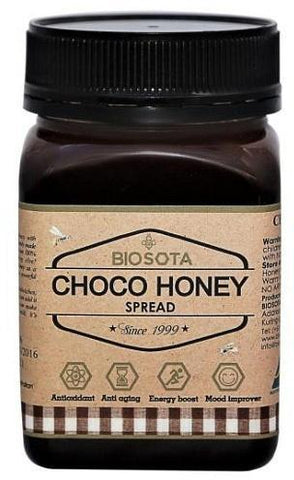 Biosota Organics Choco Honey Spread 500g-Health Tree Australia