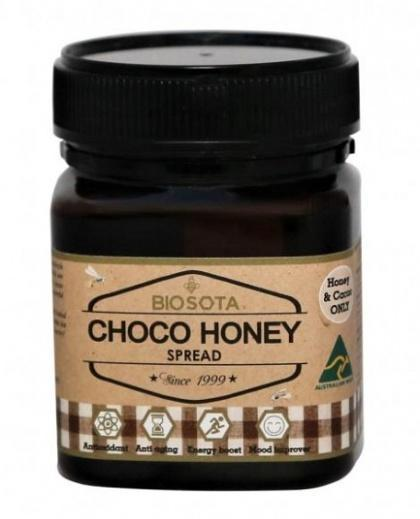 Biosota Organics Choco Honey Spread 250g-Health Tree Australia