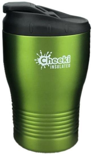 Cheeki Stainless Steel Insulated Coffe Cup Lime 240ml-Health Tree Australia