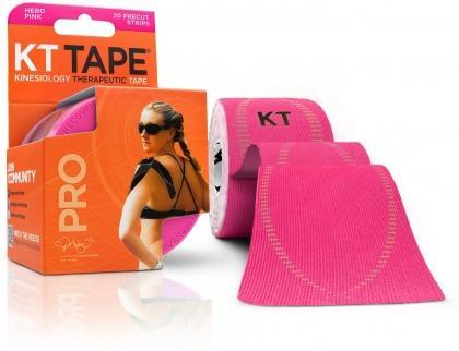 "KT Tape Pro 20 Precut 10"" Strips Hero Pink-Health Tree Australia"