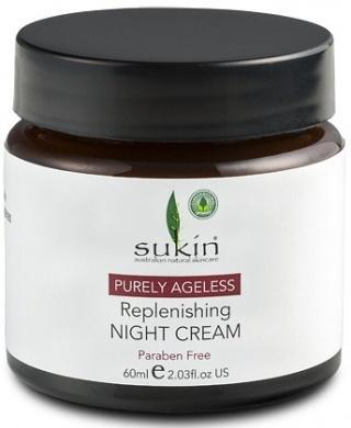 Sukin Ageless Replenishing Night Cream 60ml-Health Tree Australia