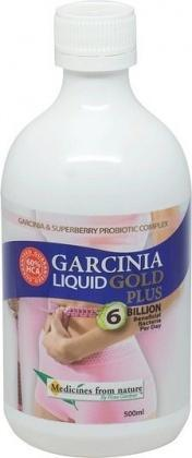 Medicines From Nature Garcinia Liquid Gold Plus 500ml-Health Tree Australia