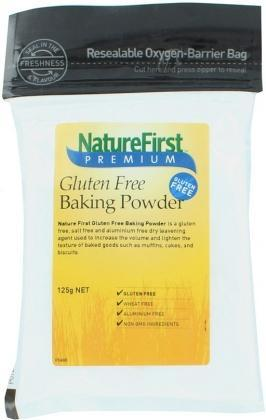Nature First Gluten Free Baking Powder 125g