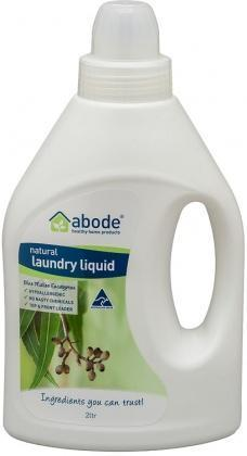Abode Natural Laundry Liquid Blue Mallee Eucalyptus 2L