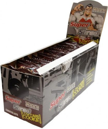 Max's SuperShred Cookie Chocolate 12x75g