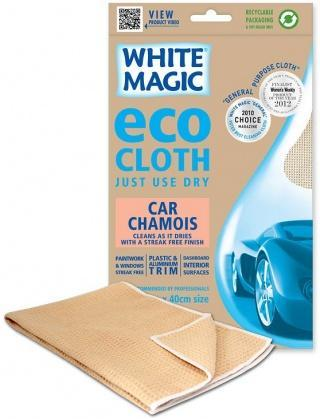 White Magic Eco Cloth Car Chamois - 60x40cm-Health Tree Australia