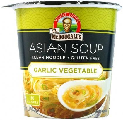 Dr McDougall Clear Noodles Garlic Vegetable G/F 31g