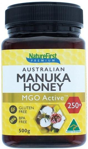 NATURE FIRST Honey Manuka (AU) MGO Active 250+ G/F 500g