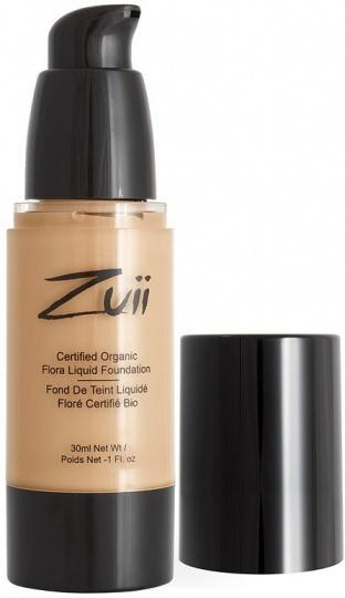 Zuii Flora Liquid Foundation Olive Medium 30ml-Health Tree Australia