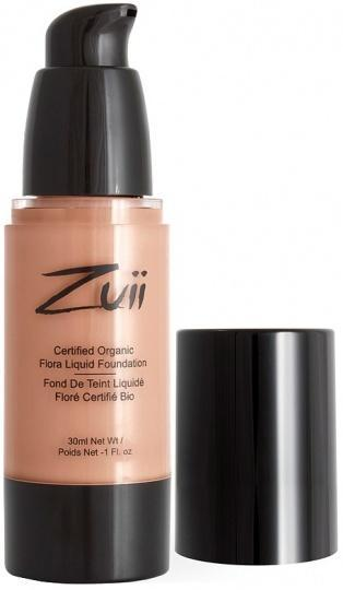 Zuii Flora Liquid Foundation Warm Beige 30ml-Health Tree Australia