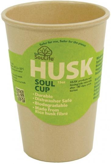 EcoSouLife Rice Husk Soul Cup Natural 443ml-Health Tree Australia