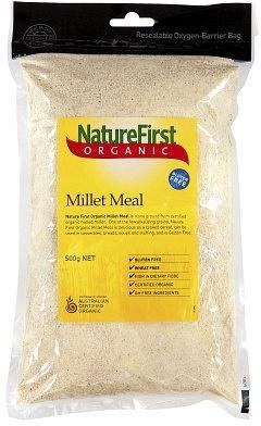 Natures First Organic Millet Meal 500gm-Health Tree Australia