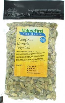 Natures First Pepitas 250gm-Health Tree Australia