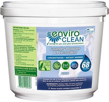 Enviro Care Laundry Powder Pre-Soaker 2Kg New