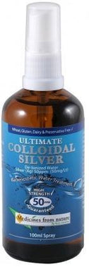 Medicines From Nature Ultimate Colloidal Silver Spry 100ml-Health Tree Australia