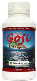 Medicines From Nature Goji Tablets 1500mg 120Tab-Health Tree Australia