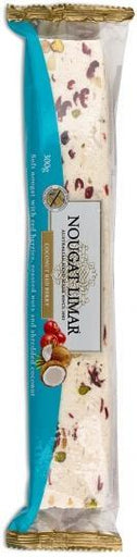 Nougat Limar Coconut Red Berry Soft Nougat 300g-Health Tree Australia