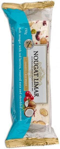 Nougat Limar Coconut Red Berry Soft Nougat 150g