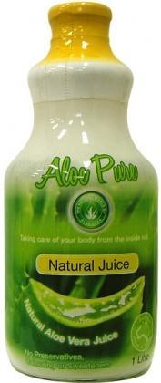 Aloe Vera Aloe Juice Natural 100% Pure (Glass) 1L