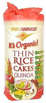 Pure Harvest Organic Thin Rice Cakes with Quinoa G/F 150g-Health Tree Australia