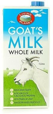 Living Planet Organic Goats Milk 1L-Health Tree Australia