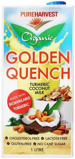 Pure Harvest Organic Golden Quench Turmeric Coconut Milk G/F 1L