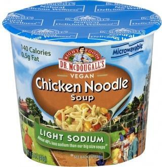 Dr McDougall Light Sodium Soup Chicken Noodle 40g-Health Tree Australia