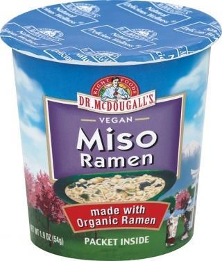 Dr McDougall Big Cup Soup Miso with Organic Noodles 54g-Health Tree Australia