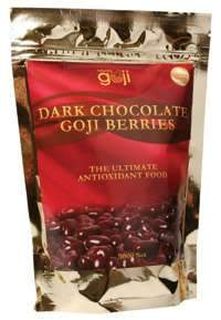 Naturally Goji Dark Chocolate Goji Berries 300gm-Health Tree Australia