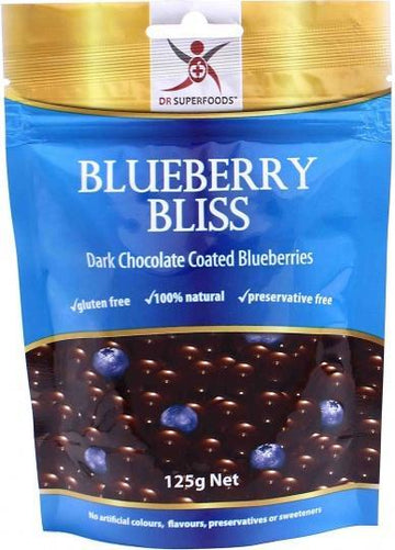 Dr Superfoods Blueberry Bliss Dark Chocolate 125g