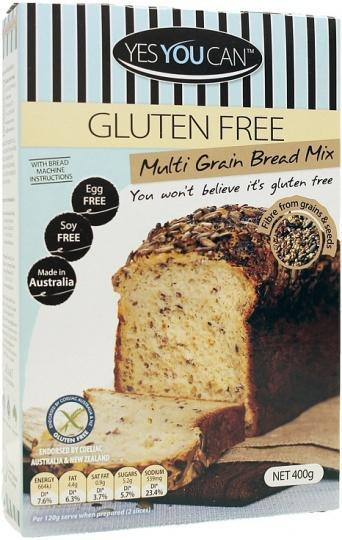 YesYouCan Multi Grain Bread G/F 400g-Health Tree Australia