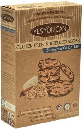 YesYouCan Artisan Supergrain Cookie G/F 400g-Health Tree Australia