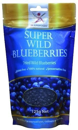 Dr Superfoods Super Wild Blueberries 125g